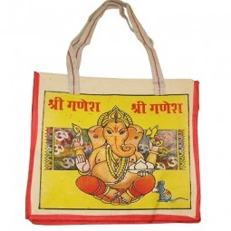 indian_cotton_bag- Bag Ganesha- growmart