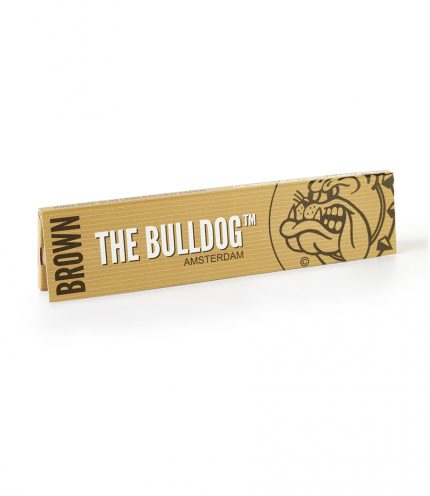 Papírky Bulldog brown king size slim